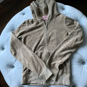 Juicy Couture terry zip up